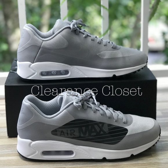 NWT Nike Air Max 90 NS GPX Wolf Grey M AUTHENTIC NWT